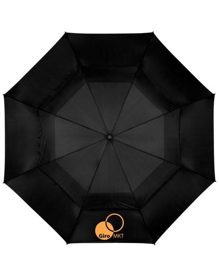 """branded brighton 32"""" auto open vented windproof umbrella"""
