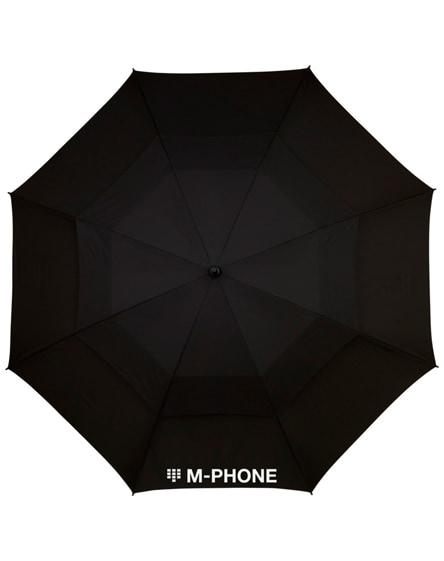 """branded newport 30"""" vented windproof umbrella"""