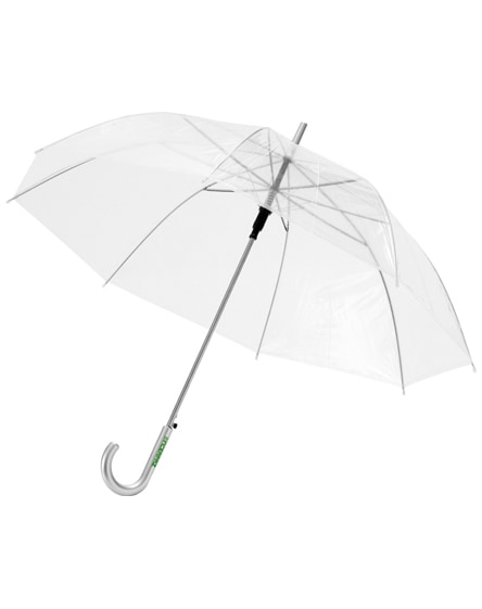 "branded kate 23"" transparent auto open umbrella"
