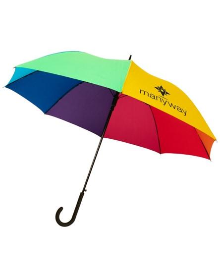 "branded sarah 23"" auto open windproof umbrella"