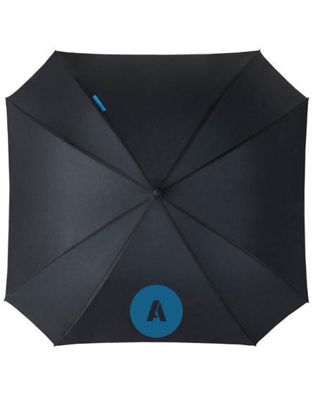 """branded square 23"""" double-layered auto open umbrella"""