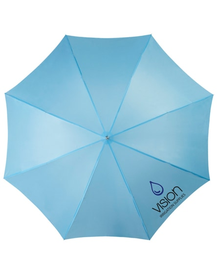 "branded lisa 23"" auto open umbrella with wooden handle"