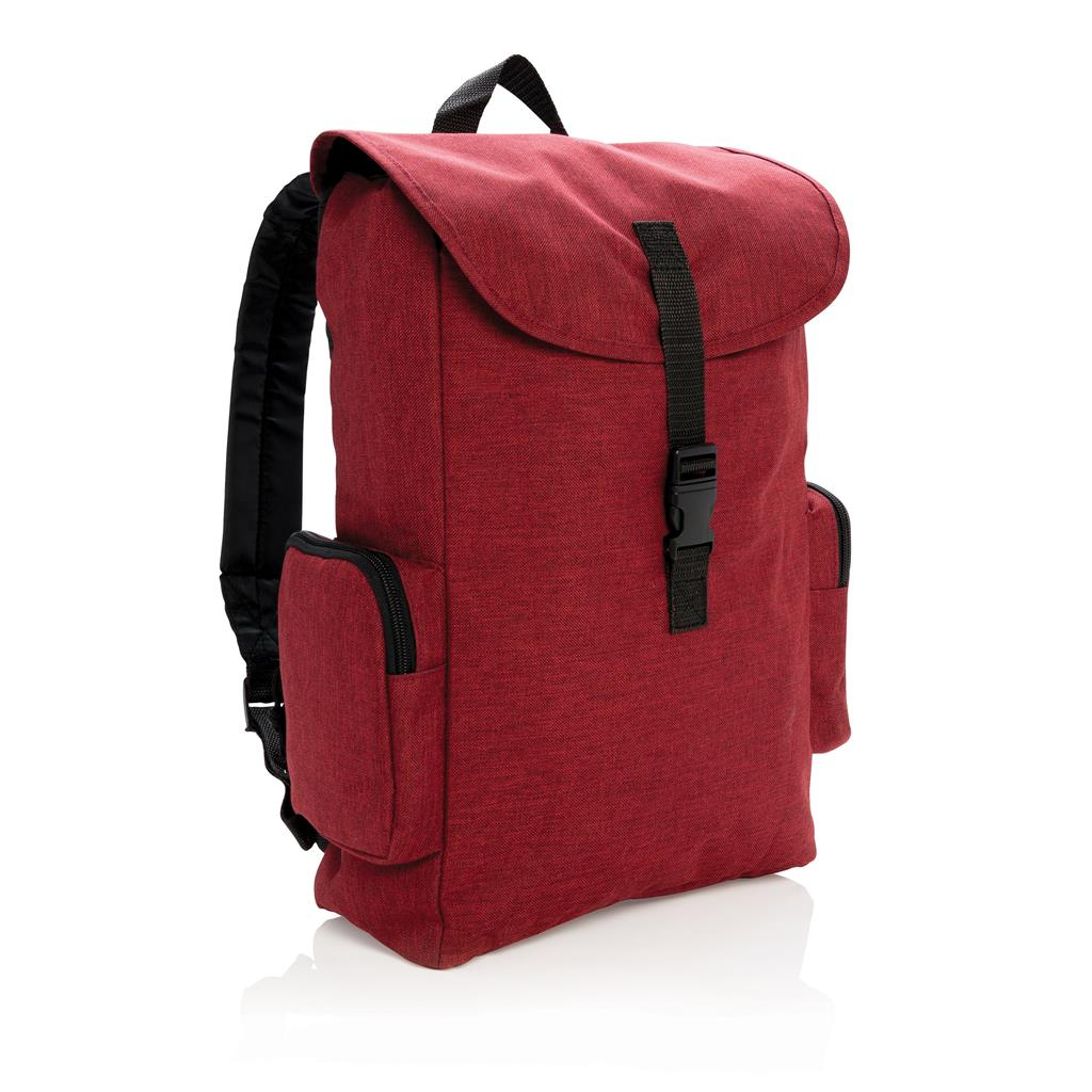 "15"" Laptop Backpack With Buckle"