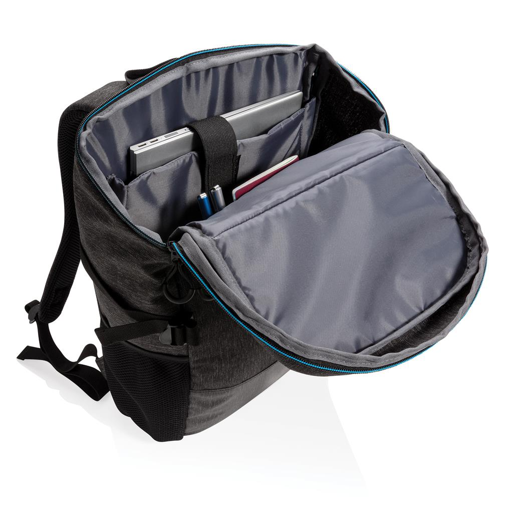 """900D Easy Access 15.6"""" Laptop Backpack Pvc Free"""