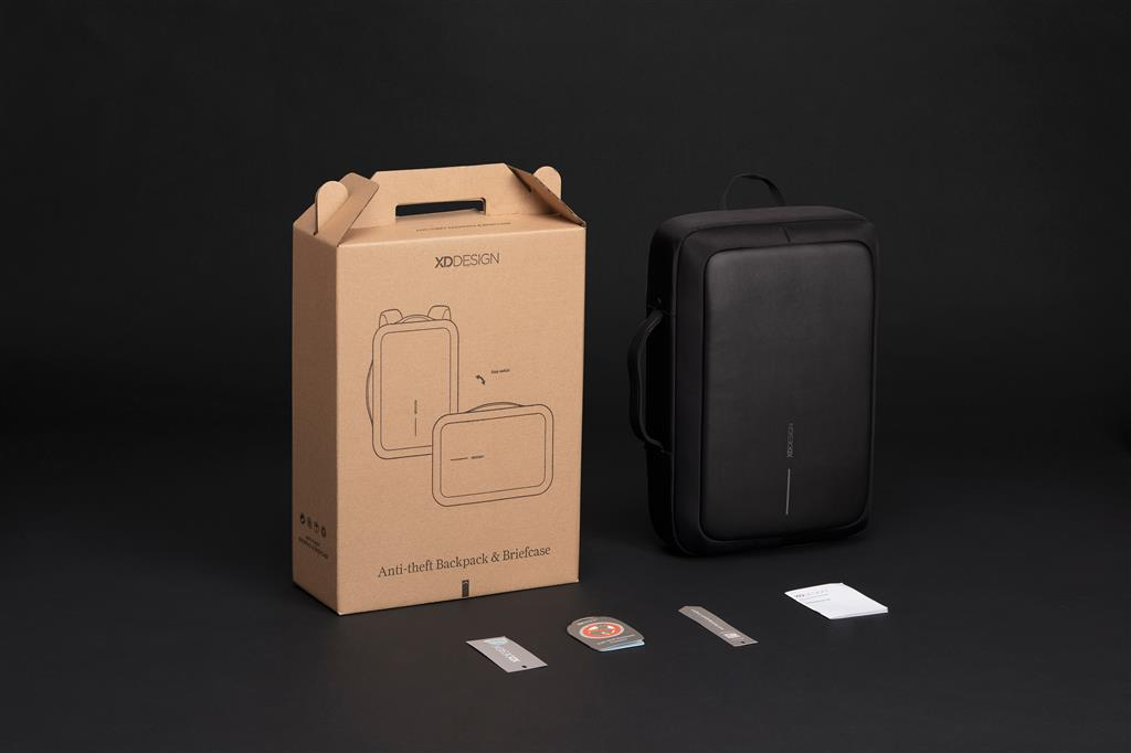 Bobby Bizz Anti Theft Backpack & Briefcase