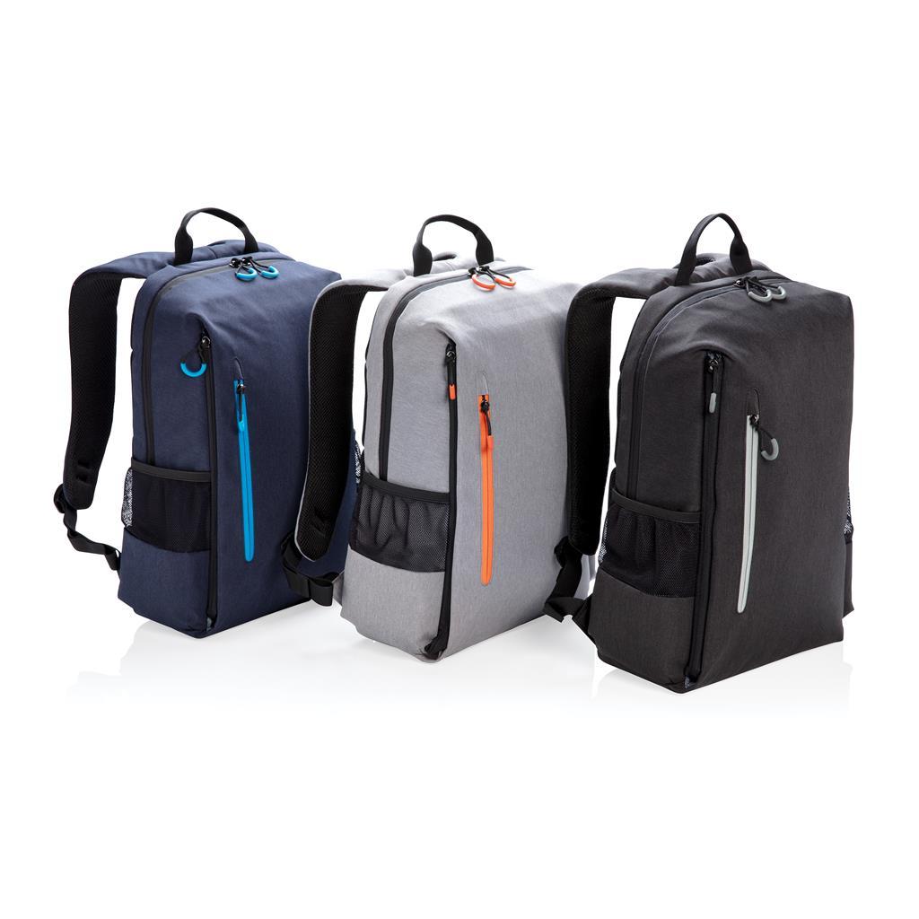 "Lima 15.6"" Rfid & Usb Laptop Backpack"