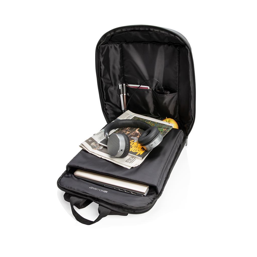 Madrid Anti Theft Rfid Usb Laptop Backpack Pvc Free