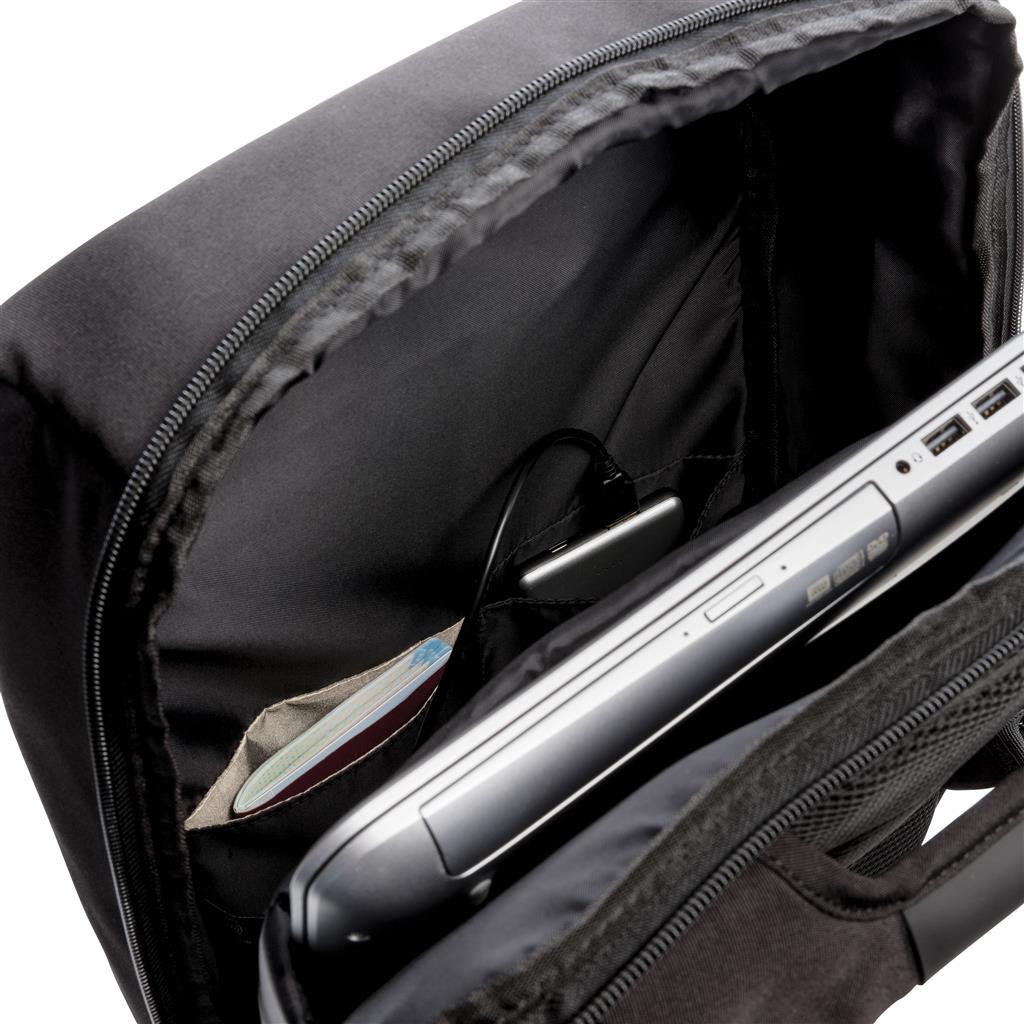 "Swiss Peak 15"" Anti Theft Rfid & Usb Backpack Pvc Free"
