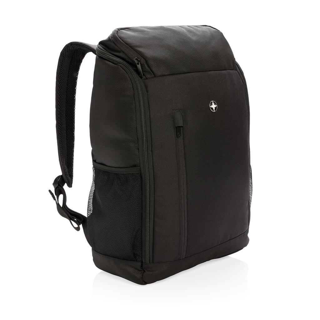 """Swiss Peak Rfid Easy Access 15"""" Laptop Backpack Pvc Free"""