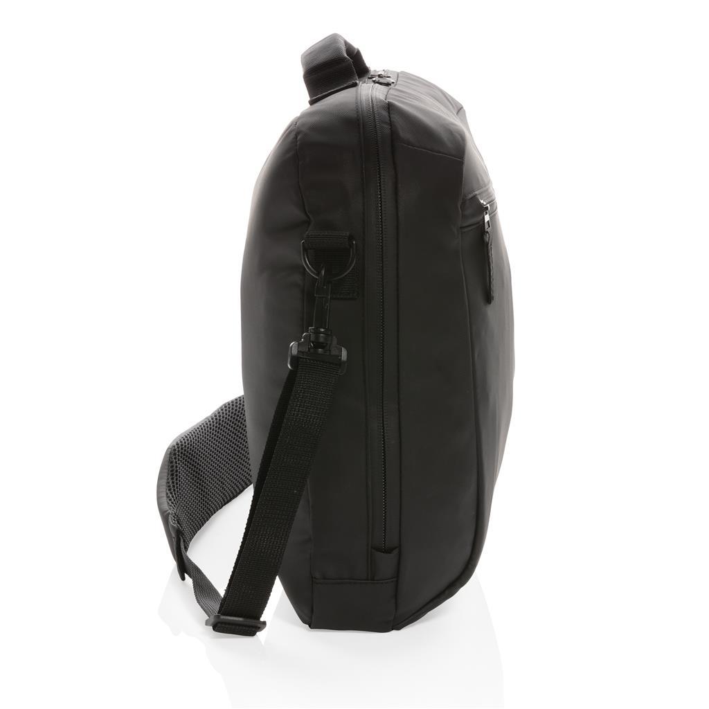 """Fashion Black 15.6"""" Laptop Bag Pvc Free"""