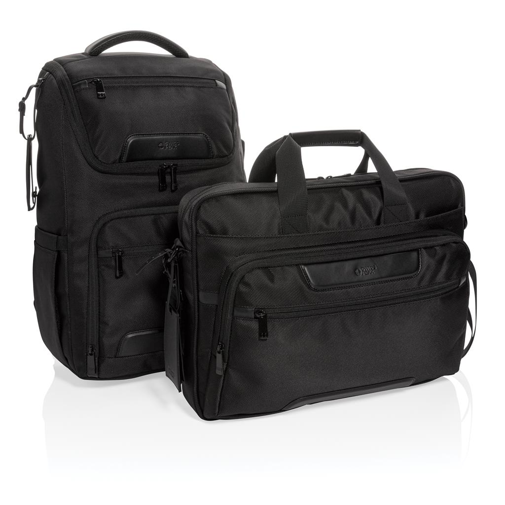 "Swiss Peak Rpet Voyager Rfid 15.6"" Laptop Bag"