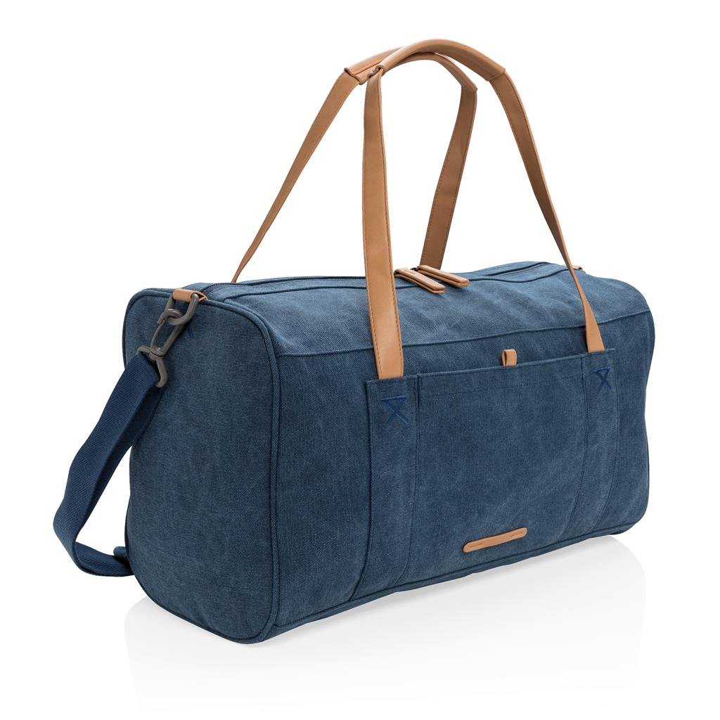 Canvas Travel Weekend Bag Pvc Free