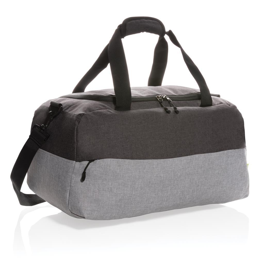 Duo Color Rpet Rfid Weekend Bag Pvc Free