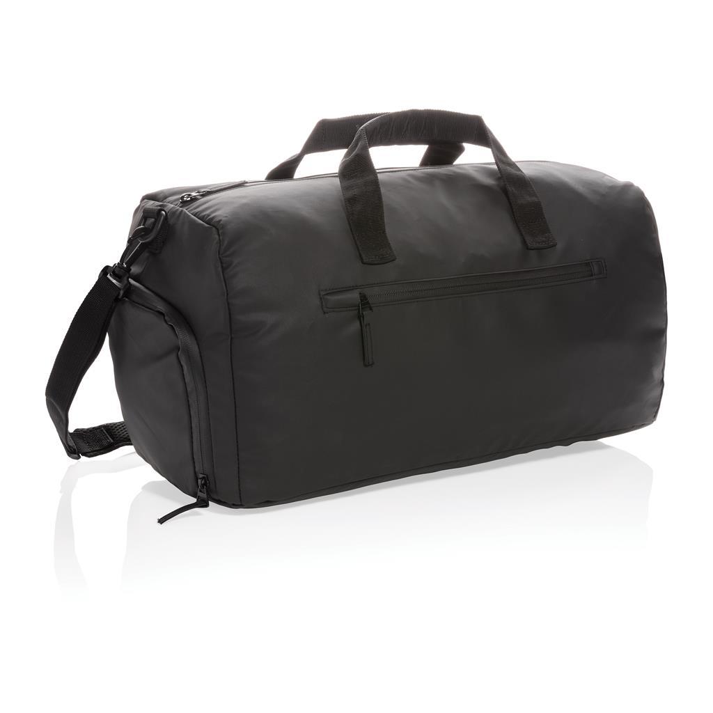 Fashion Black Weekend Bag Pvc Free