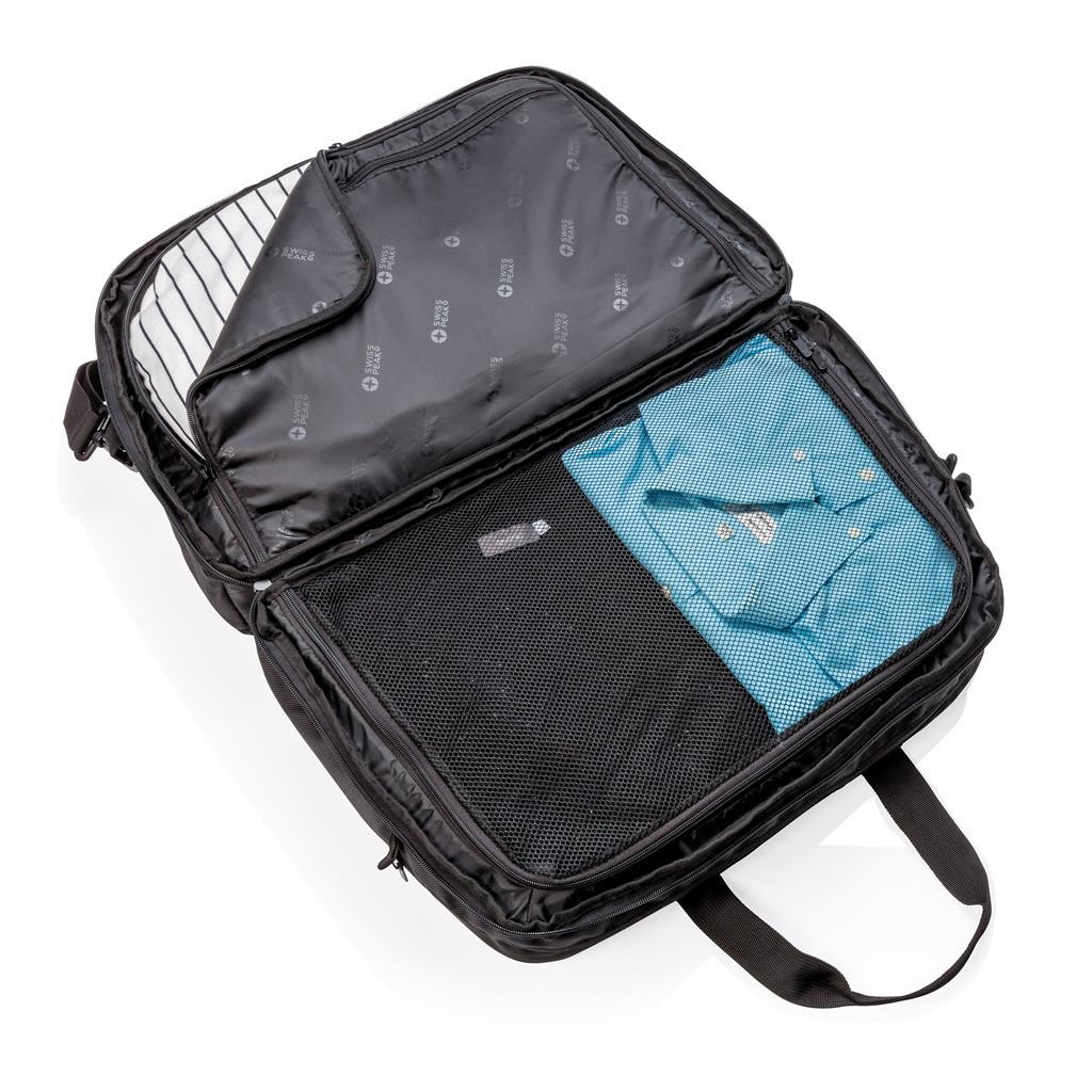 Swiss Peak Rfid Duffle With Suitcase Opening