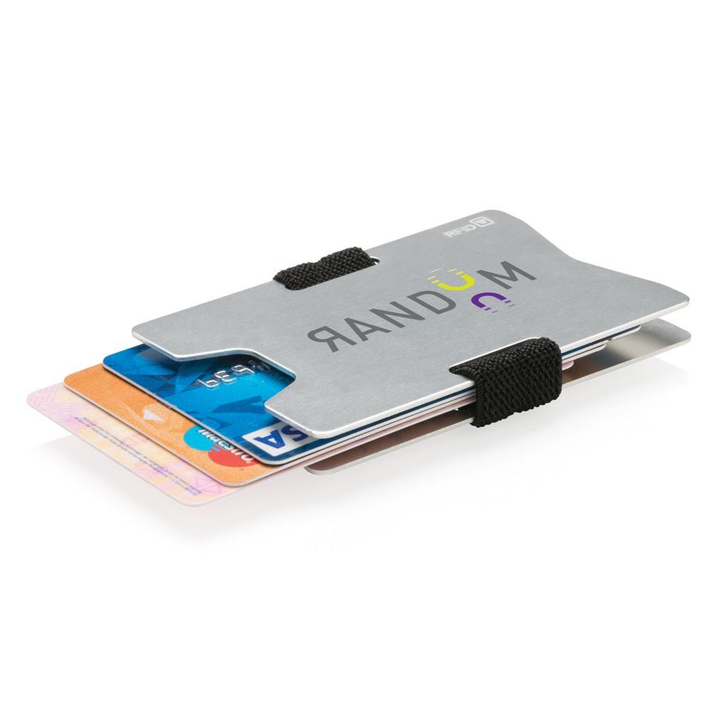 Aluminium Rfid Anti Skimming Minimalist Wallet