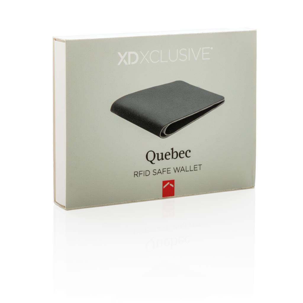 Quebec Rfid Safe Wallet