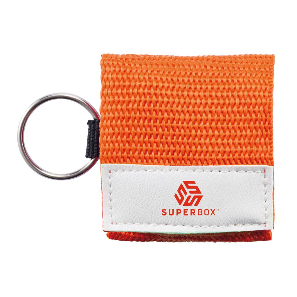 Keychain Cpr Mask