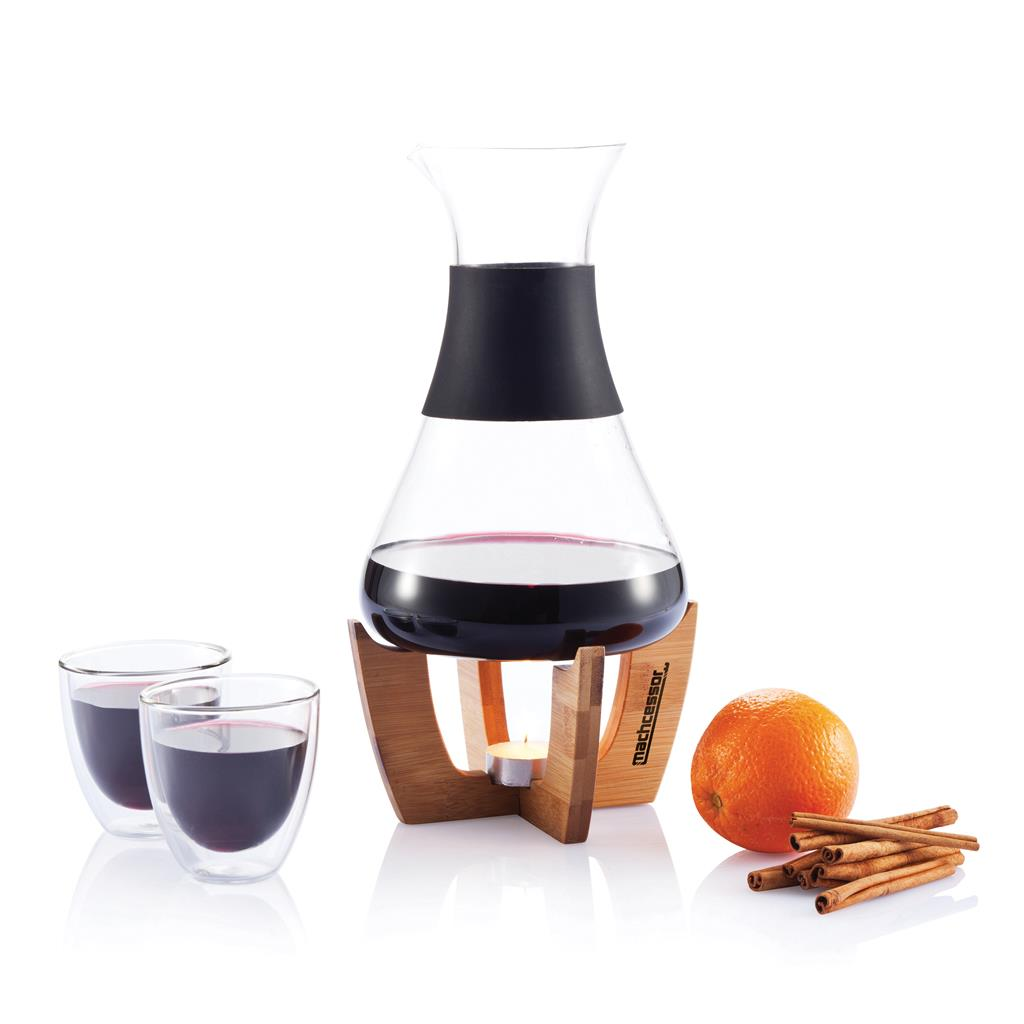 Glu Mulled Wine Set With Glasses
