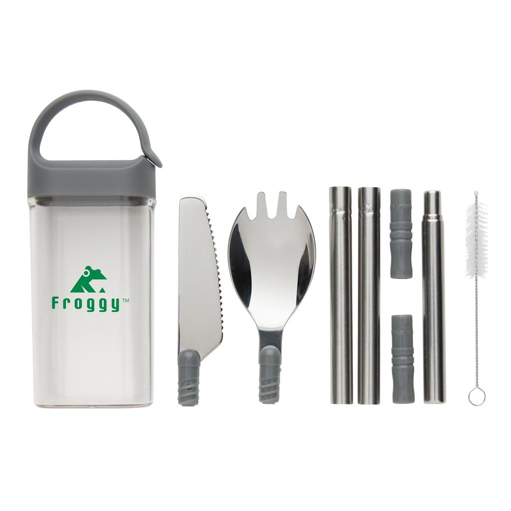 Pocketsize Reusable Cutlery Set On The Go