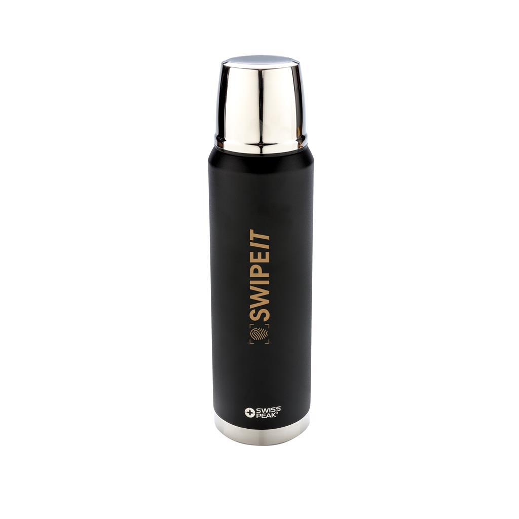 Swiss Peak Elite 1L Copper Vacuum Flask