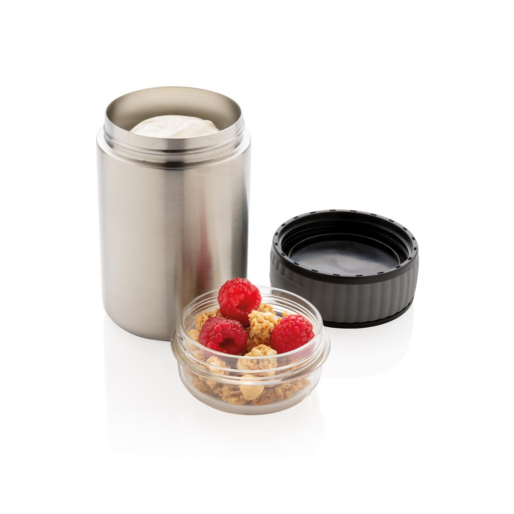 2 in 1 Vacuum Lunch Flask