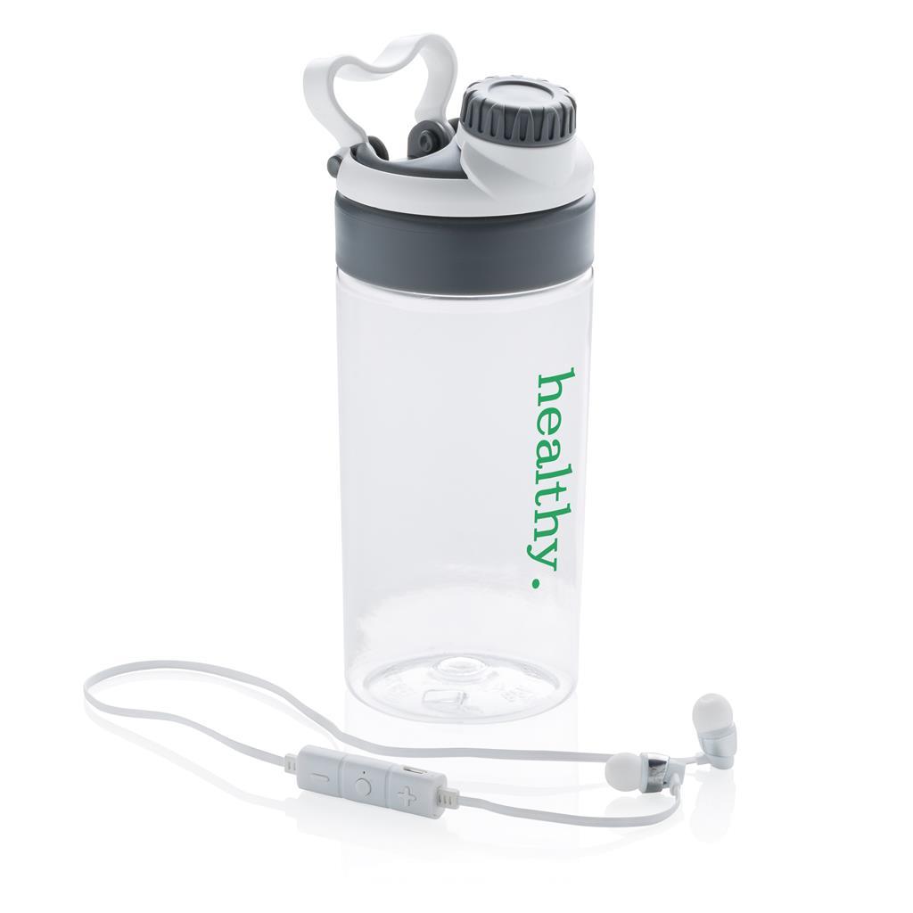 Leakproof Bottle With Wireless Earbuds