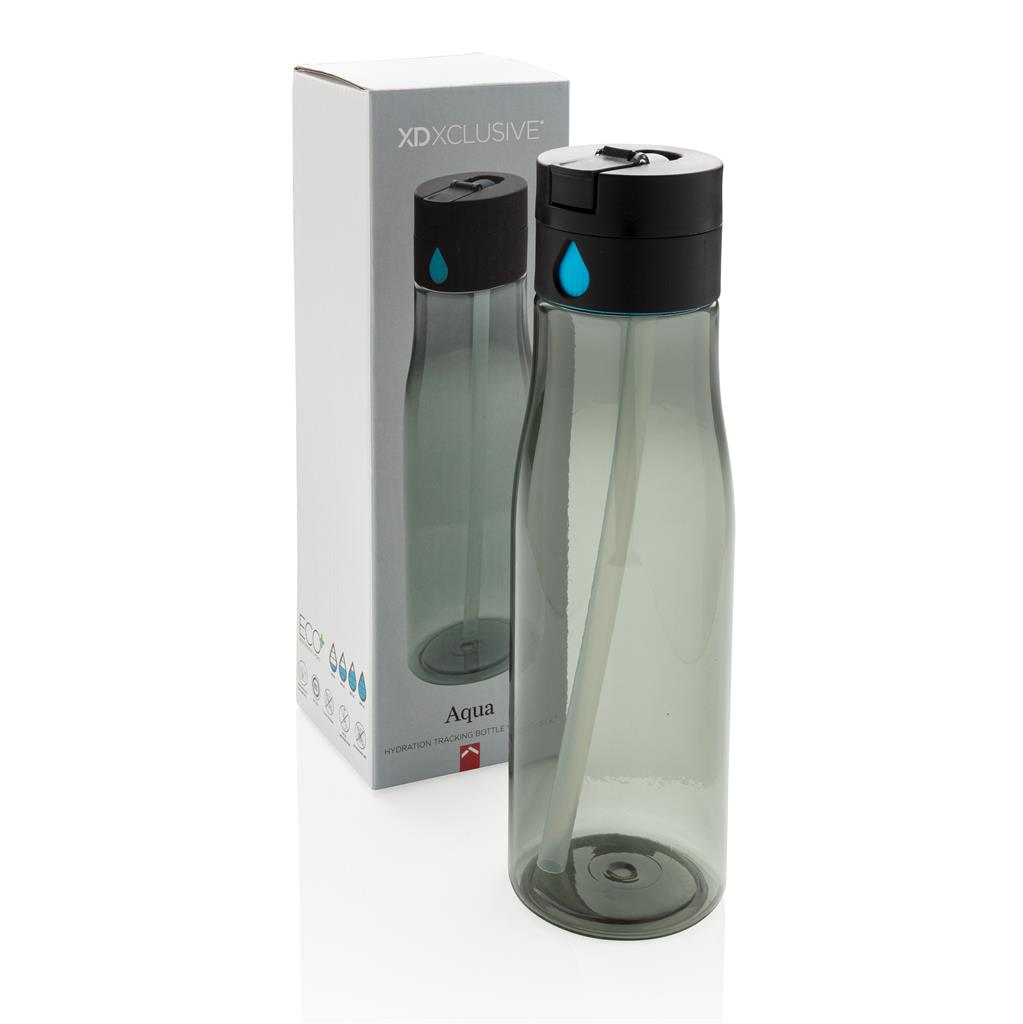 Aqua Hydration Tracking Bottle With Spout