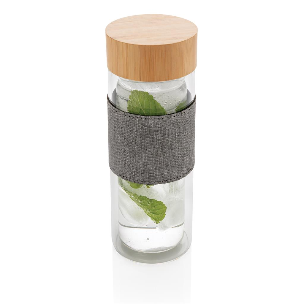 Impact Double Wall Borosilicate Glass Bottle