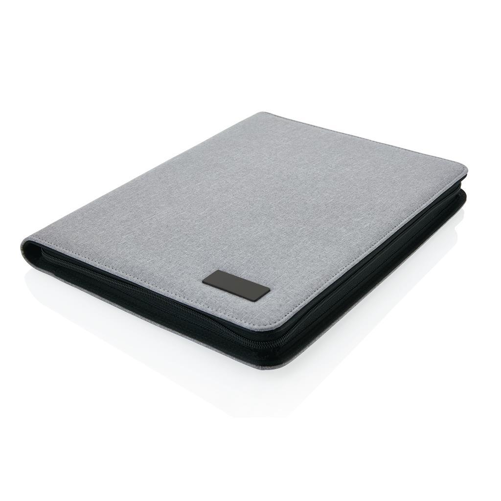 Deluxe Tech Portfolio With Zipper