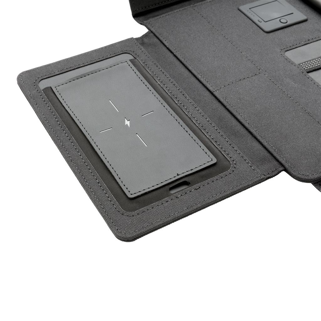 "Kyoto 10"" Tablet Portfolio With Wireless Charging"