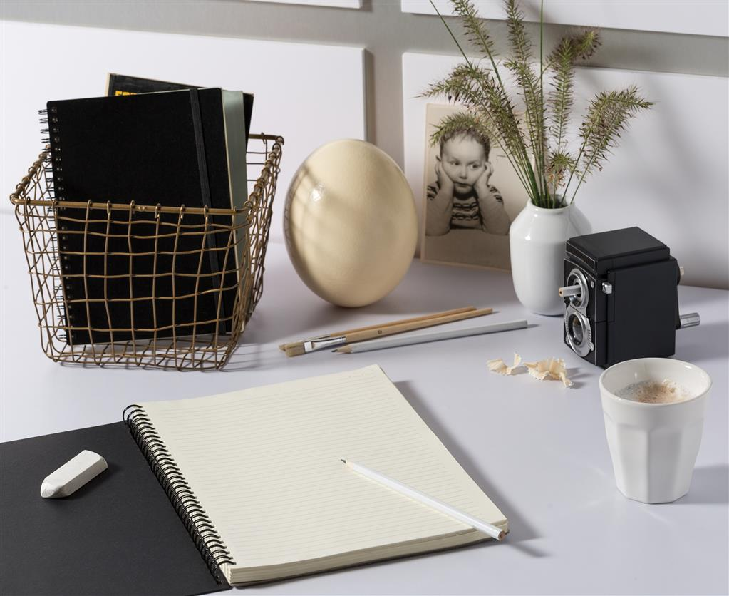 A4 Deluxe Spiral Ring Notebook