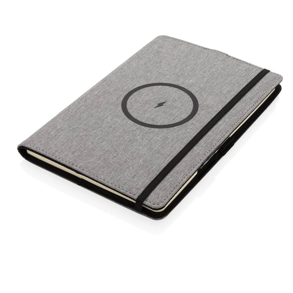 Air 5W Rpet Wireless Charging Refillable Journal Cover A5