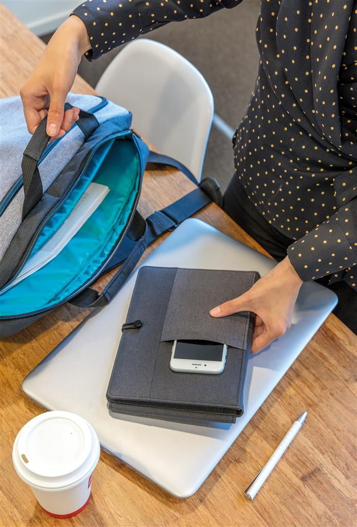 Kyoto Notebook With 5W Wireless Charging