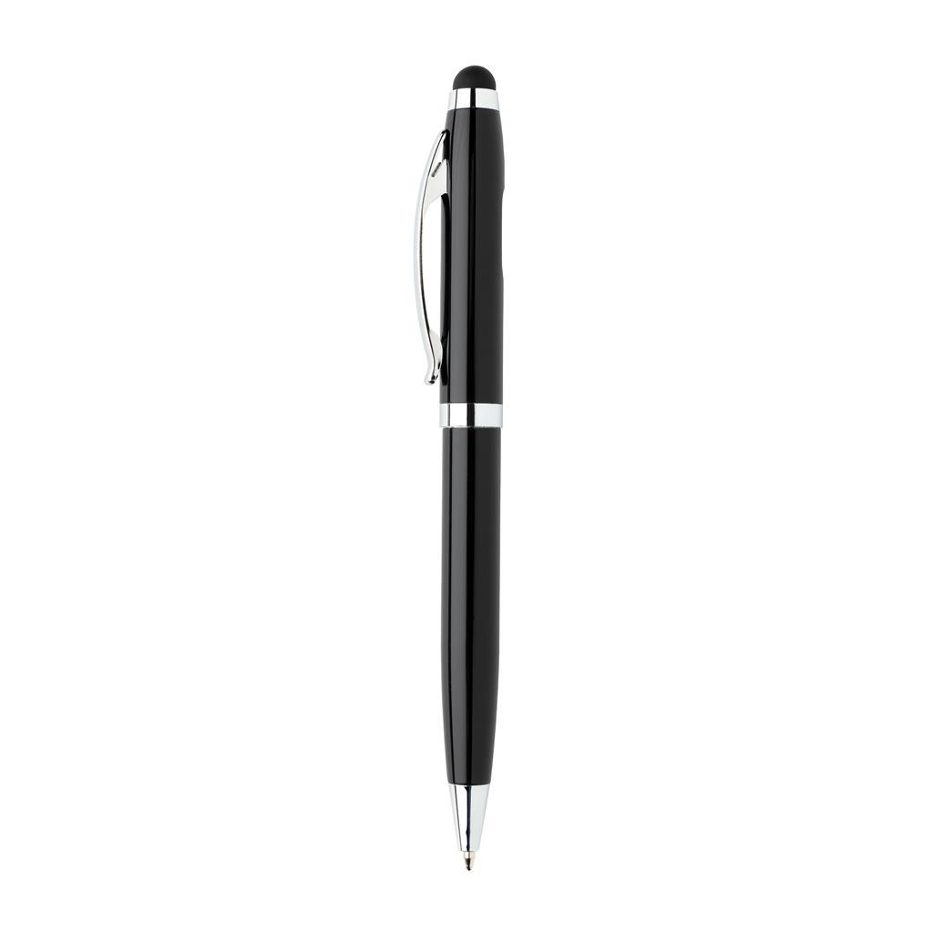 Deluxe Stylus Pen With Cob Light