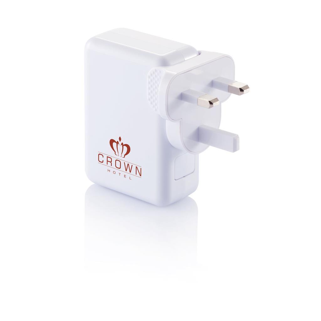 Travel Plug With 4 Usb Ports