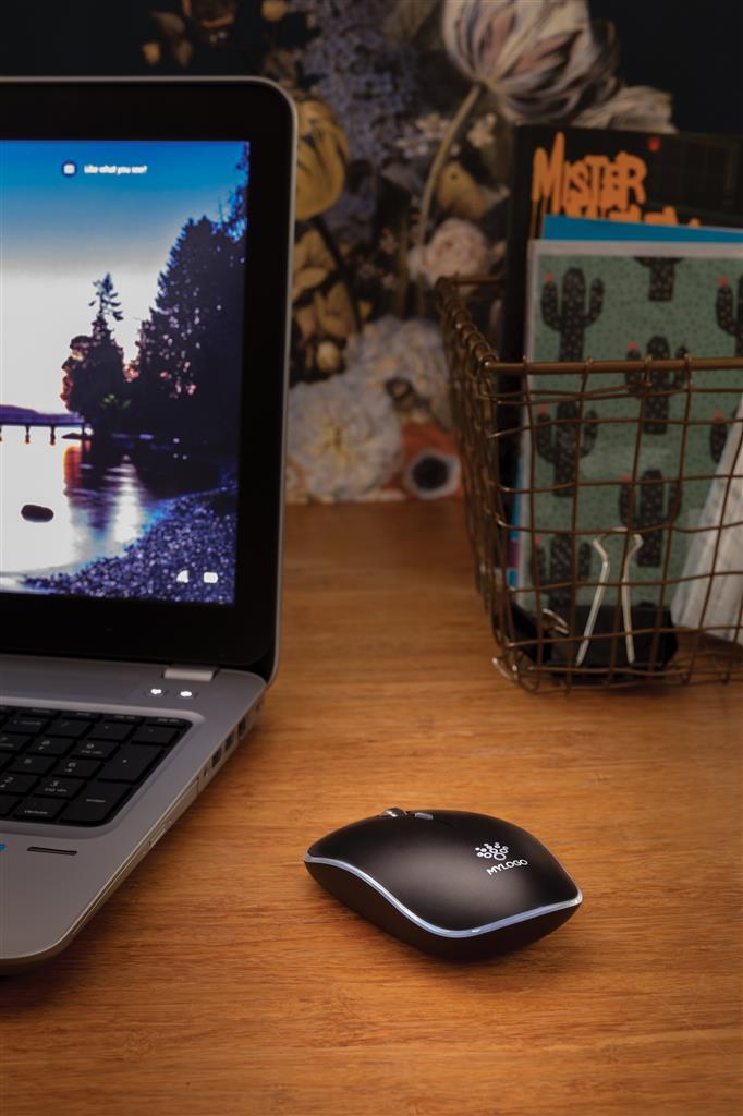 Light Up Logo Wireless Mouse