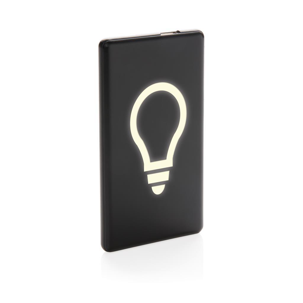 4000mah Light Up Logo Powerbank