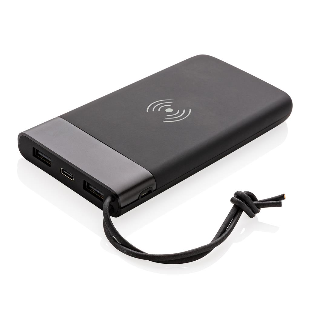 Aria 8000mah 5W Wireless Charging Powerbank