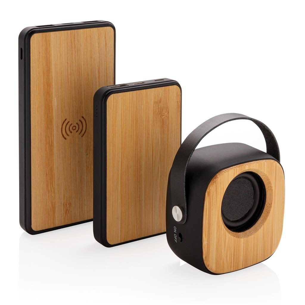 Bamboo 5000mah Fashion Pocket Powerbank