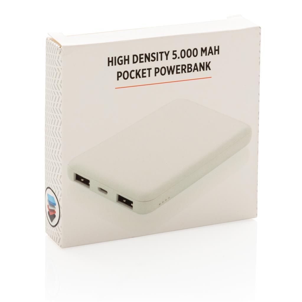 High Density 5000mah Pocket Powerbank