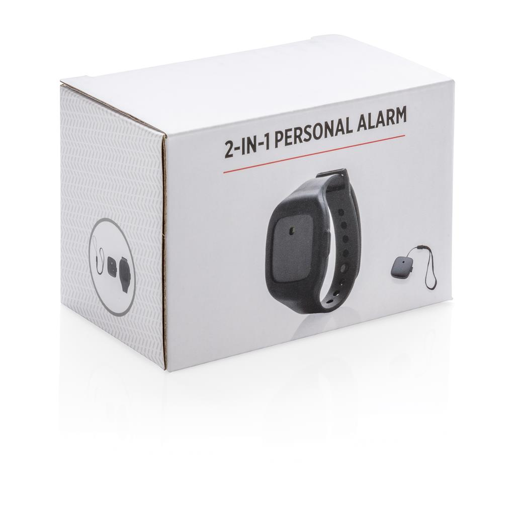 2 In 1 Personal Alarm