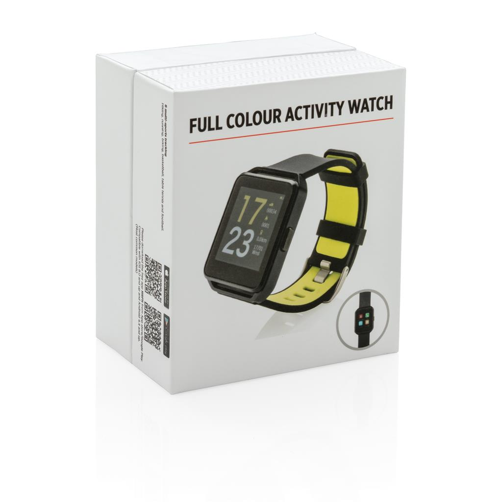 Full Colour Activity Watch