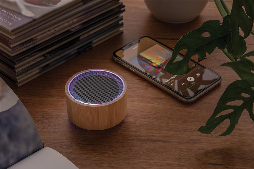 Bamboo Wireless Speaker