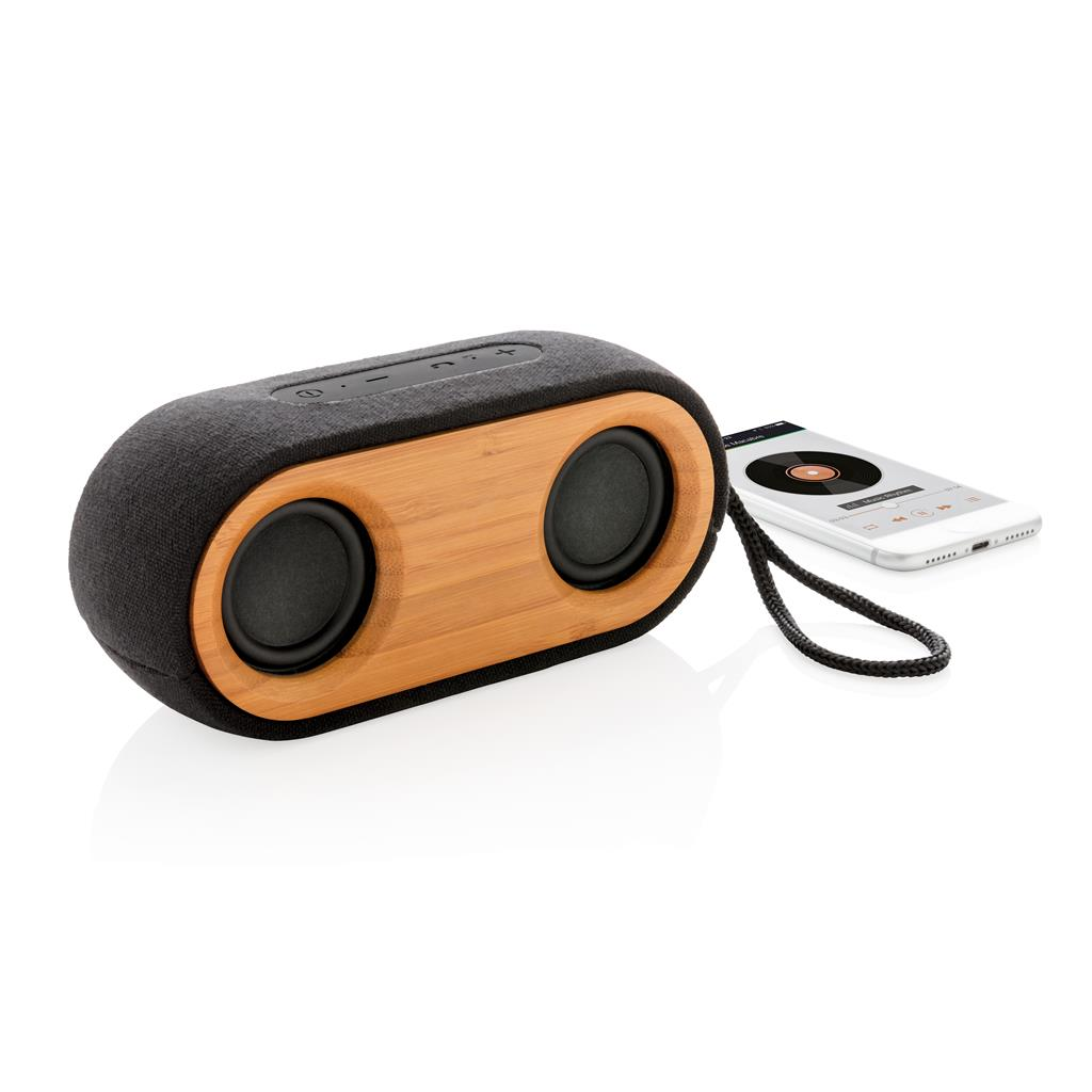 Bamboo X Double Speaker