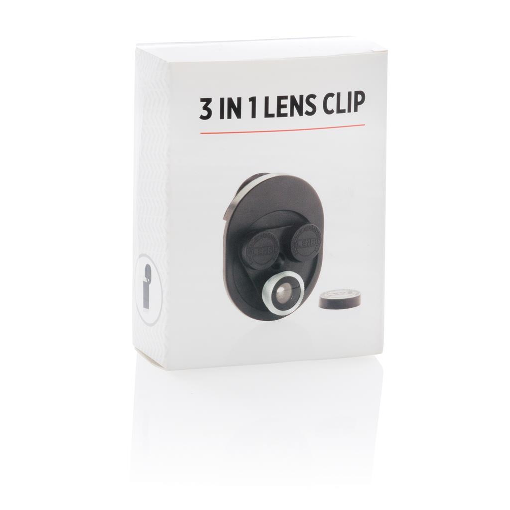3 In 1 Lens Clip