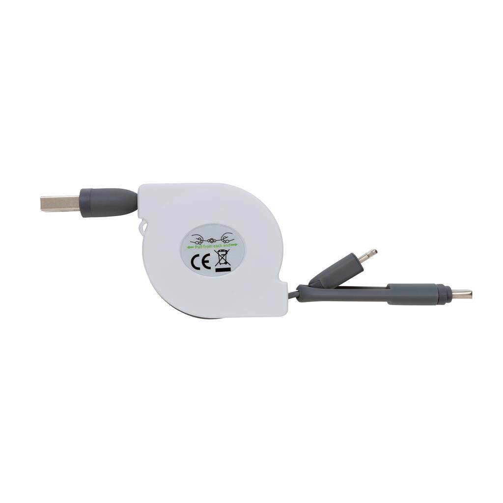 3 In 1 Retractable Cable
