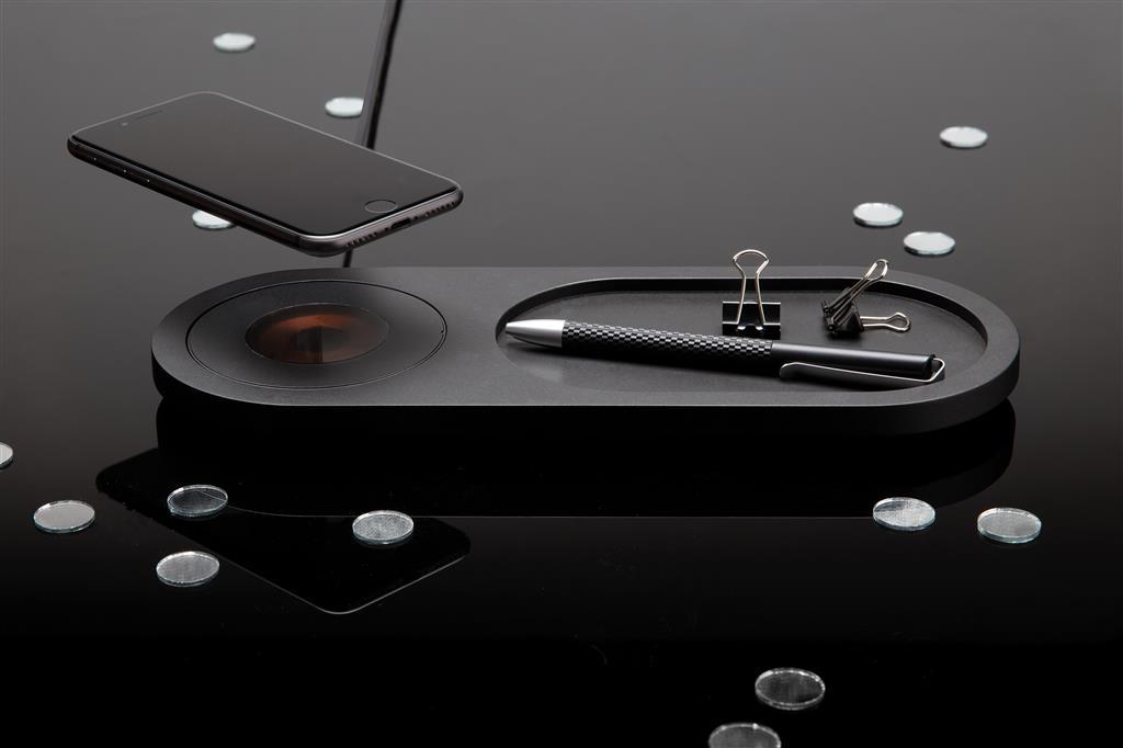 Encore 10W Wireless Charging Valet Tray