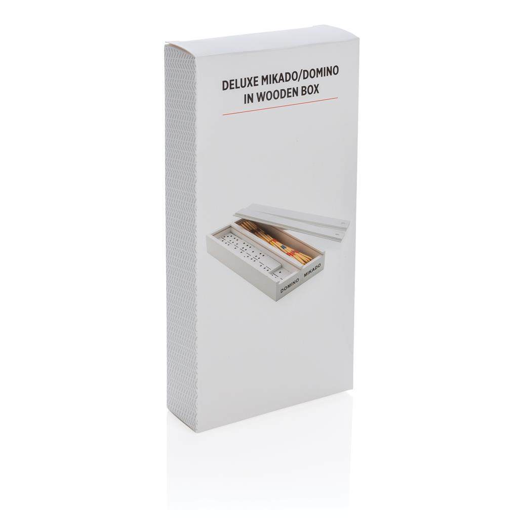 Deluxe Mikado Domino In Wooden Box