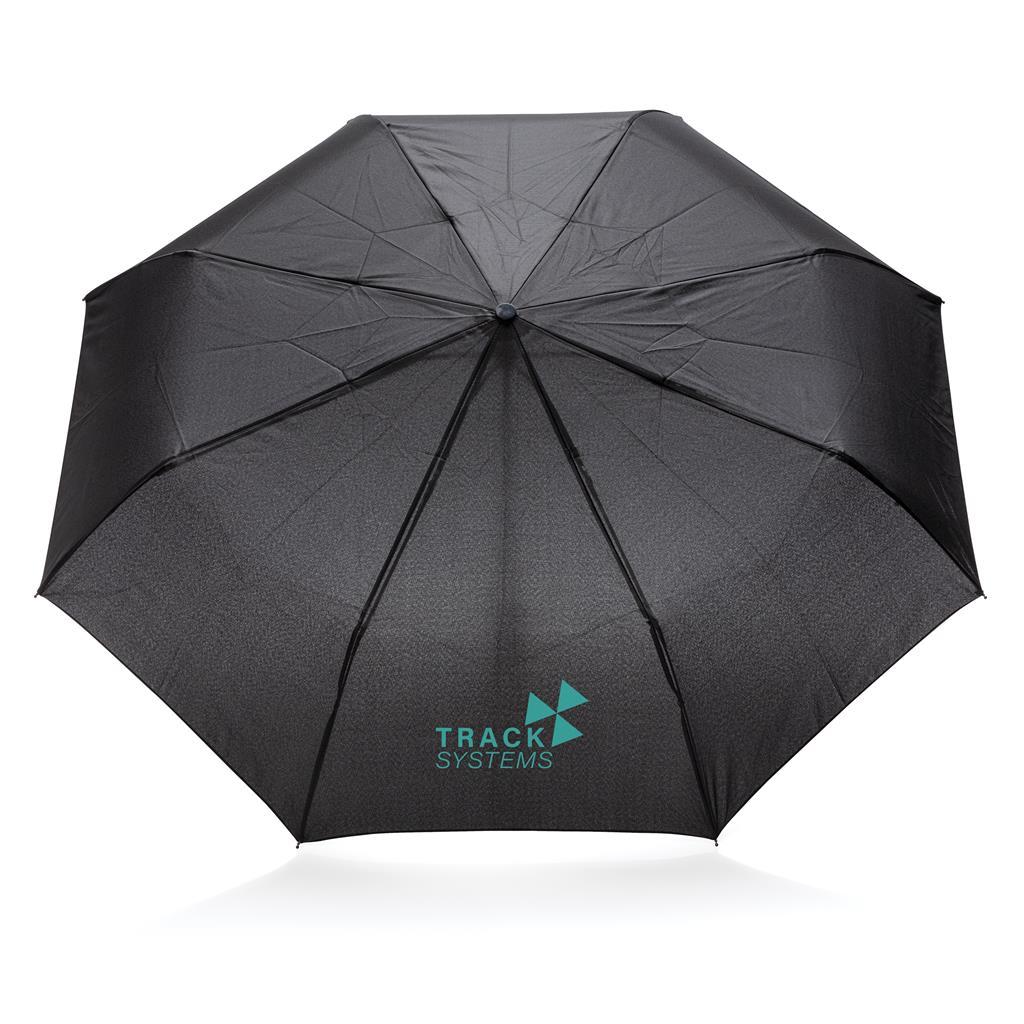 "21"" Manual Open Umbrella With Tote Bag"